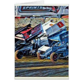 Raceauto's Briefkaarten 0
