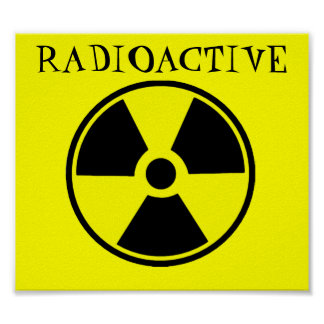 Radioactief Poster