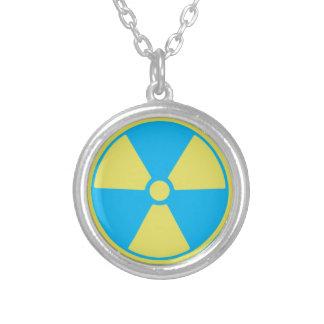 Radioactief Zilver Vergulden Ketting
