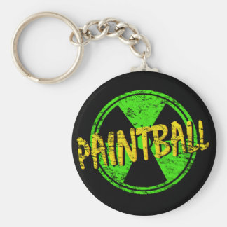 Radioactieve Paintball Sleutelhanger