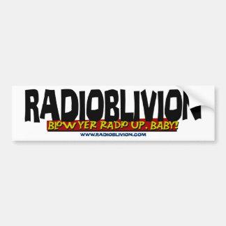 RadiOblivion - Slag - omhoog Bumpersticker