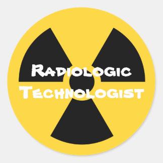 Radiologie Ronde Sticker