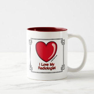 Radioloog Tweekleurige Koffiemok