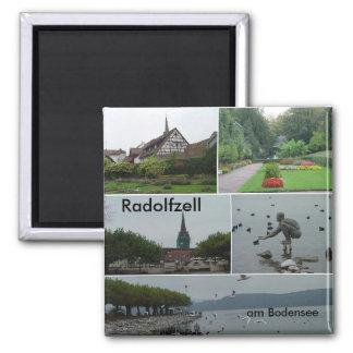 Radolfzell, Radolfzell, am Bodensee Vierkante Magneet