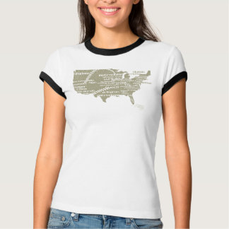 RAE - het Klassieke Overhemd van het Stadion van T Shirt