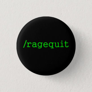 Ragequit Gamer Ronde Button 3,2 Cm