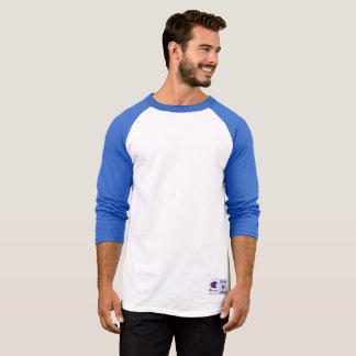 Raglan 3/4 van de Kampioen van het mannen het T Shirt