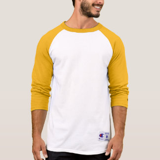 Raglan 3/4 van de Kampioen van het mannen T Shirt