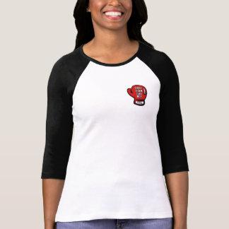 Raglan Blk van Mdm van Dames FTJB T Shirt