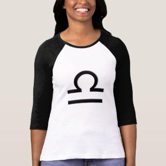 Raglan van de Dames van het Symbool van de T Shirt