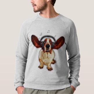 Raglan van de Kleding van Basset Hound Amerikaans Sweater