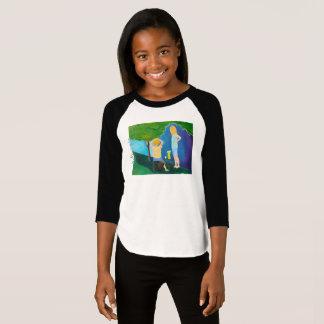 Raglan van het Grote Meisje van de Oorlogen van de T Shirt