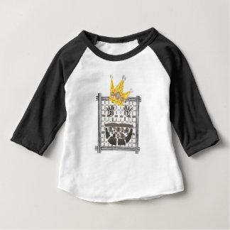 Raglan van het Kind van Sudoku van de koning Baby T Shirts