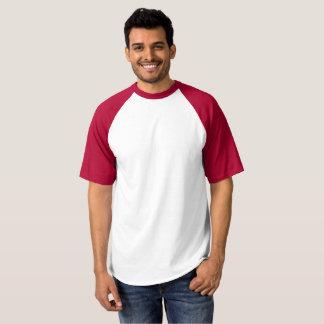 Raglan van het mannen de T-shirt van het Honkbal