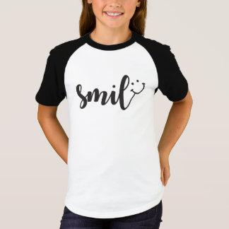 Raglan van het Sleeve van de Meisjes van de Panda T Shirt