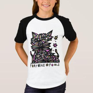 """Raglan van het Sleeve van de Meisjes """"van de T Shirt"""