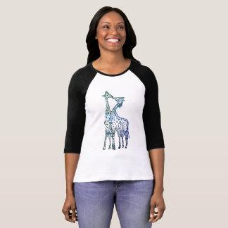 Raglan van het Sleeve van de Vrouwen van de Kus T Shirt