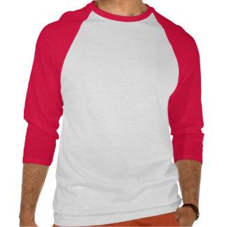 Raglan van het Sleeve van Engeland Fundamentele 3/ T Shirts