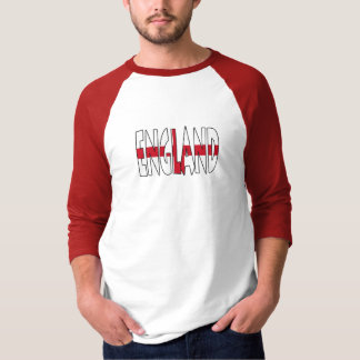 Raglan van het Sleeve van Engeland Fundamentele T Shirt