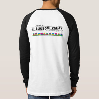 Raglan van het Sleeve van het Mannen BVNA Lange T Shirt