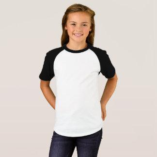 Raglan van het Sleeve van meisjes Korte T-shirt