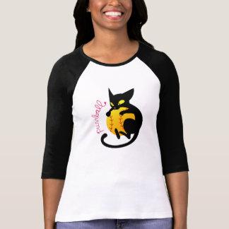 Raglan van Purrball T Shirt