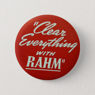 Rahm Emmanuel Pin Ronde Button 5,7 Cm