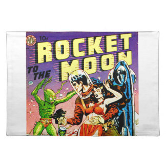 Raket aan de Maan Placemat