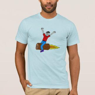 raket logboek t shirt