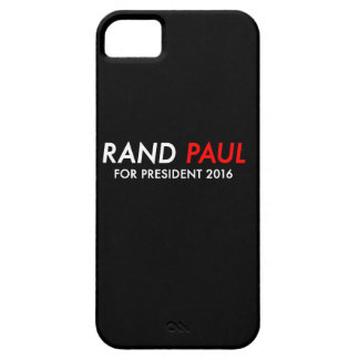 Rand Paul voor President 2016 Barely There iPhone 5 Hoesje