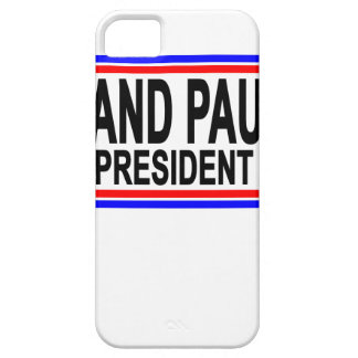 RAND PAUL VOOR PRESIDENT 2016.PNG BARELY THERE iPhone 5 HOESJE