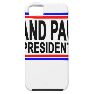 RAND PAUL VOOR PRESIDENT 2016.PNG TOUGH iPhone 5 HOESJE