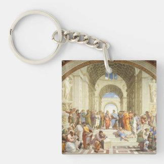 Raphael - de school van Athene 1511 Sleutelhanger
