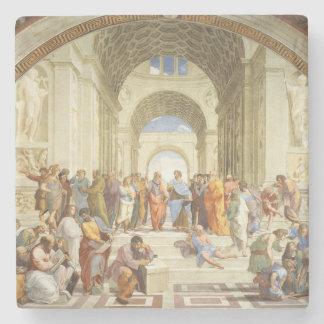 Raphael - de school van Athene 1511 Stenen Onderzetter