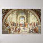 Raphael - School van Athene Poster