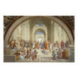 Raphael - School van Athene Posters