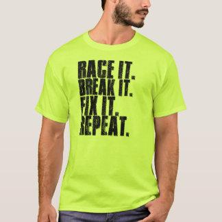 Ras het. Onderbreking het. Moeilijke situatie het. T Shirt