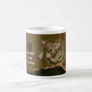 Rat I vergt mijn Mok van de Koffie