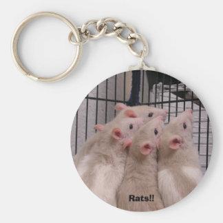 Ratten!! Sleutelhanger