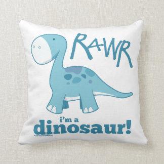 RAWR ik ben een Dinosaurus werp Hoofdkussen Sierkussen