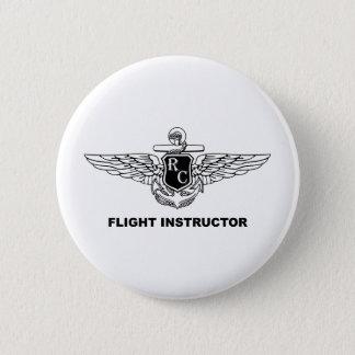 RC de Instructeur van de vlucht Ronde Button 5,7 Cm