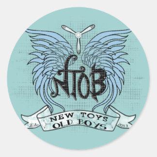RC de Wijnoogst van de Club van het vliegtuig Ronde Sticker