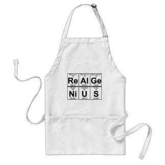 Re-Al-GE-Ni-u-s (echt genie) - Hoogtepunt Standaard Schort