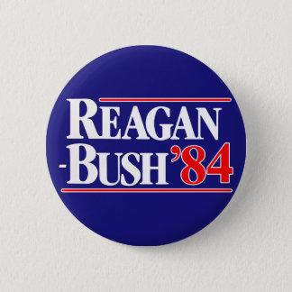 Reagan ringt 84 ronde button 5,7 cm