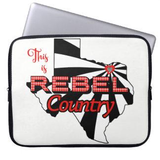 Rebellen Land Laptop van het Neopreen van 15 Duim Laptop Sleeve