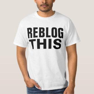 reblog dit t shirt
