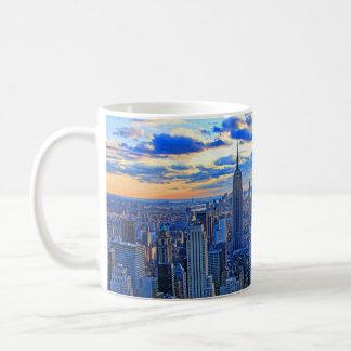 Recente middagNYC Horizon als Koffiemok
