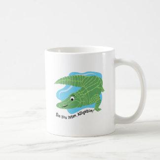 Recentere Alligator Koffiemok