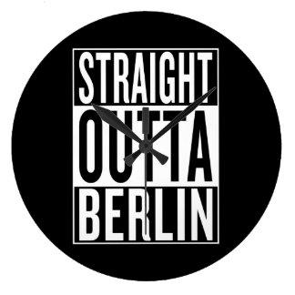 rechte outta Berlijn Grote Klok