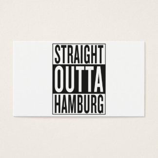 rechte outta Hamburg Visitekaartjes